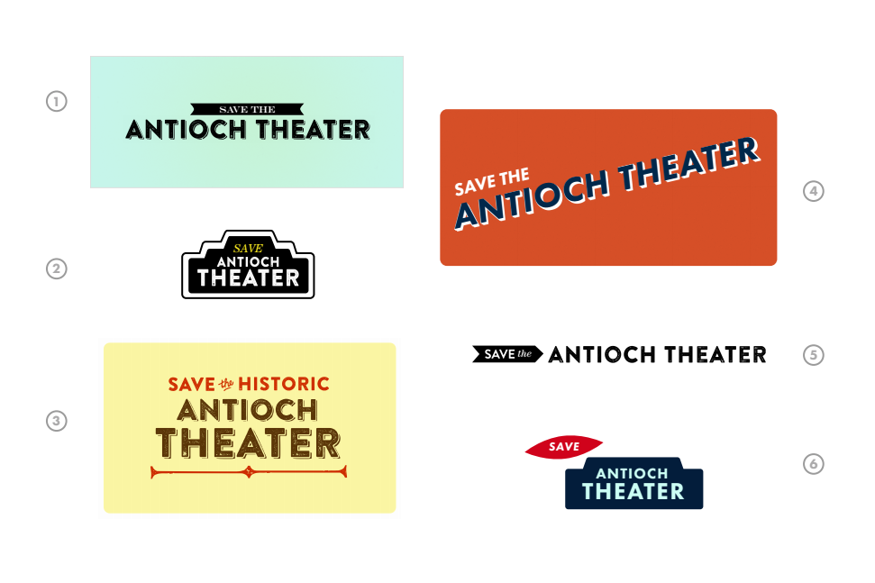 Logo Antioch Theater