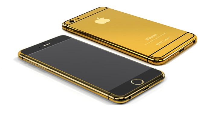 iPhone 6 Emas 24 Karat
