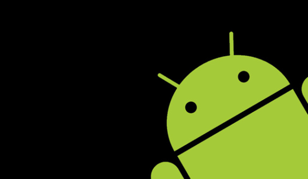 android robot green black