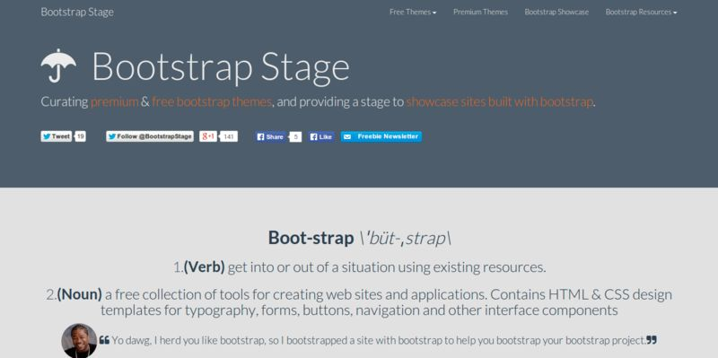 Bootstrap Stage