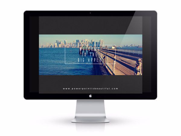 Powerpoint Template – Big Apple