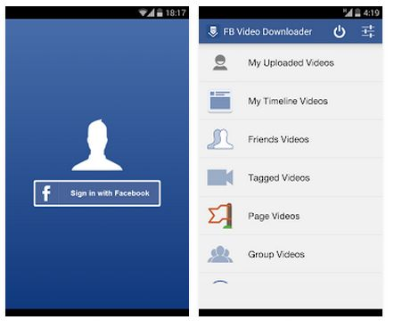download video dari facebook melalui android