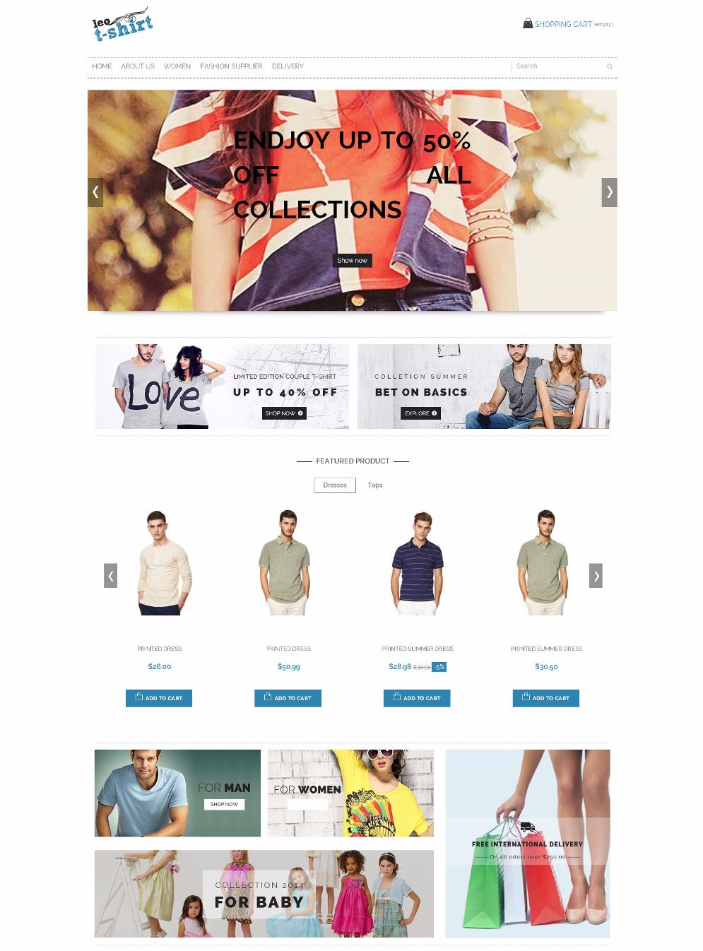 6 theme prestashop gratis untuk toko online anda jurnal web for Wordpress t shirt store theme free
