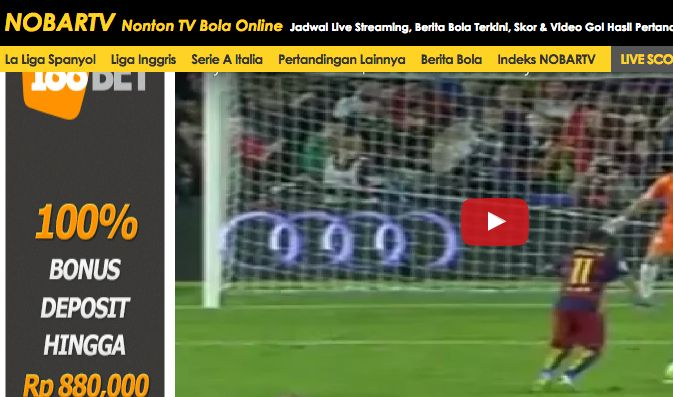 12 Website Live Streaming Sepak Bola Terbaik Terlengkap Jurnal Web