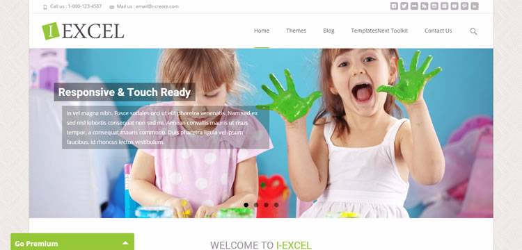 i-excel theme wordpress