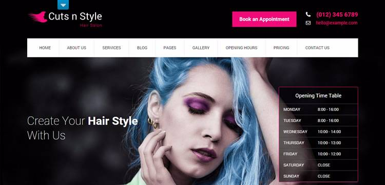 skt cutsnstyle theme wordpress