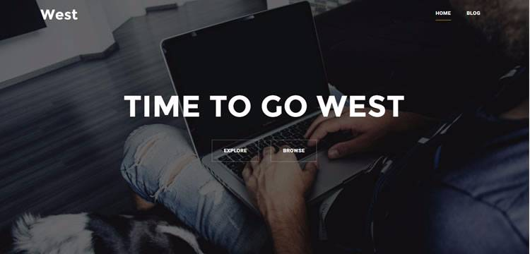 west theme wordpress