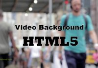background video html5