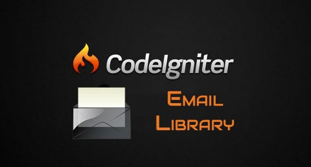 codeigniter email class