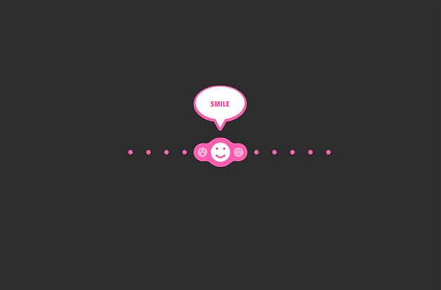 Animasi SVG slider bubble