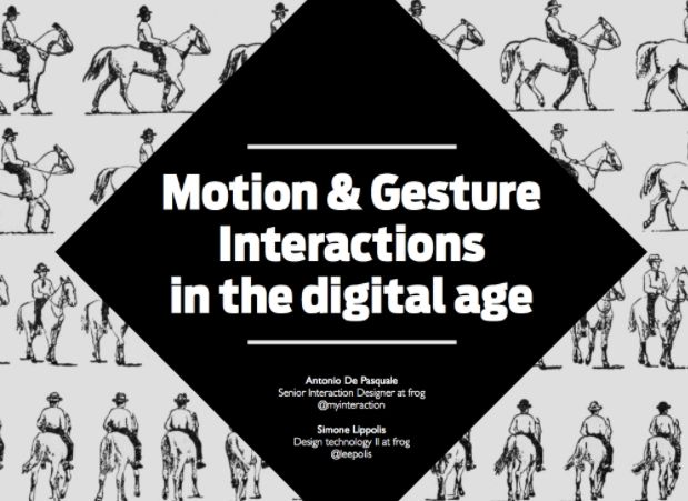 motion gesture interactions in the digital age
