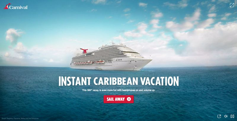 carnival instant caribbean-vacation