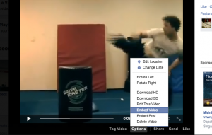 embed video facebook