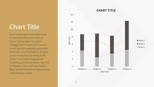 Free Golden Powerpoint Template