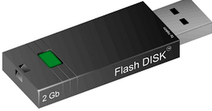 Recovery file di flash disk