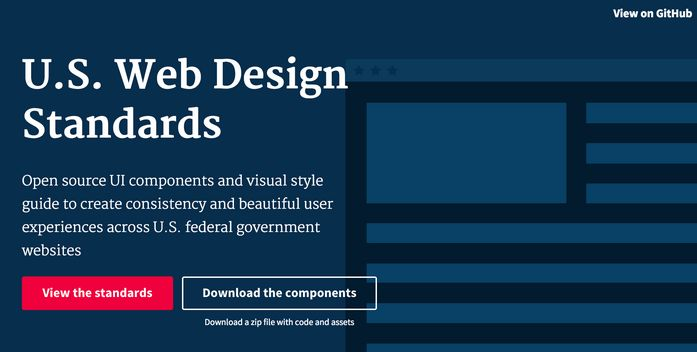 US Web Design Standars
