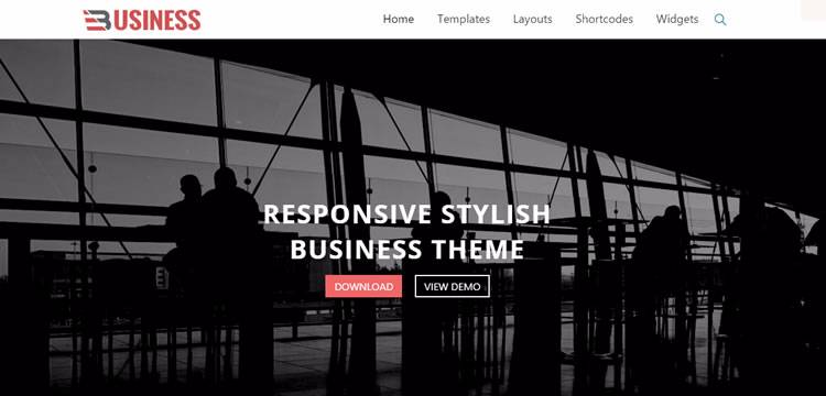 business world theme wordpress