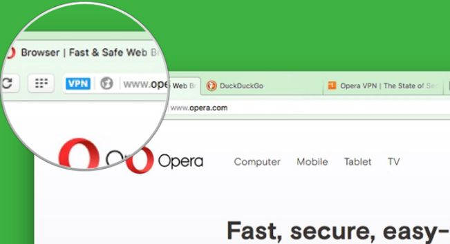 VPN Opera Browser