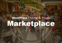 wordpress theme marketplace