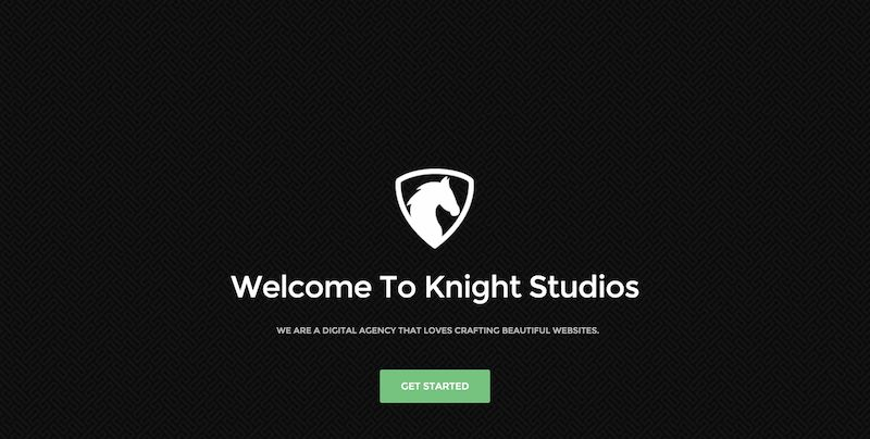 template bootstrap Knight