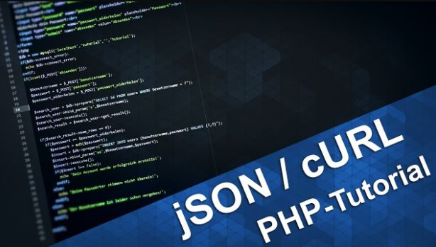 php json curl