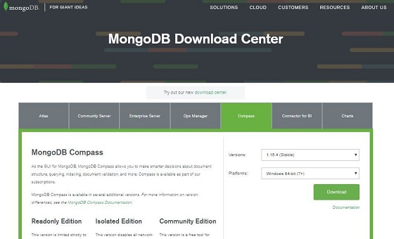 Install MongoDB 9 Download Compass